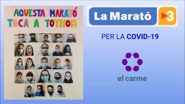 EL CARME AMB LA MARATÓ DE TV3