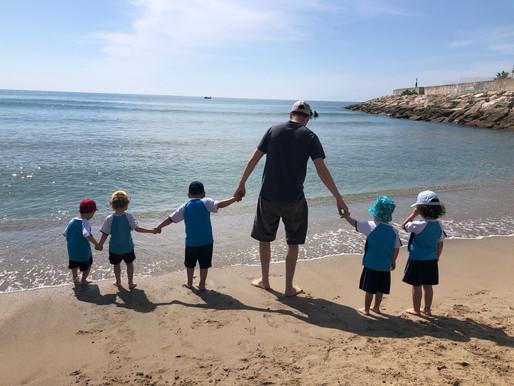 Els nens de P3 hem anat a la platja!
