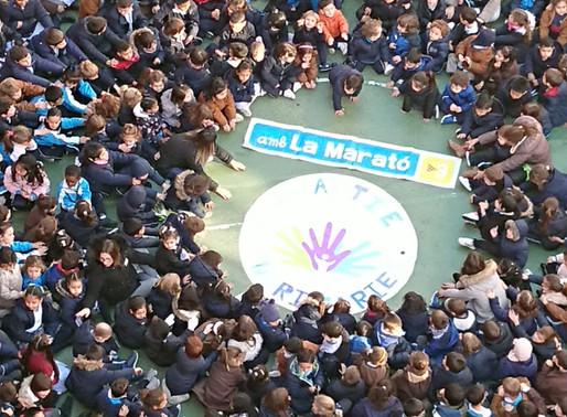 ACTE PER LA MARATÓ DE TV3