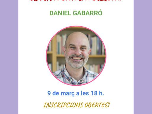 Conferència: EDUCAR PER A LA FELICITAT