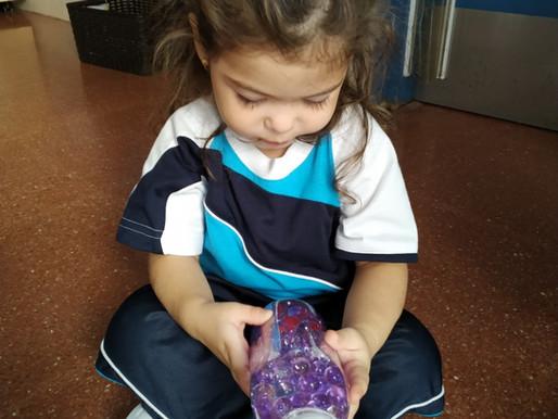 Treballem amb les ampolles sensorials!