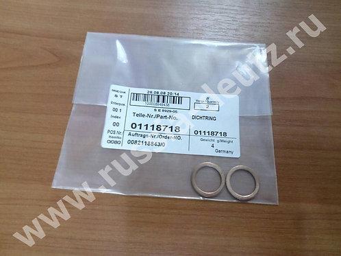 Уплотнительное кольцо Deutz 01118718