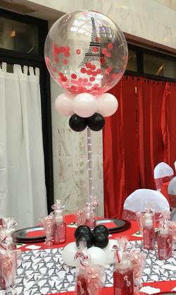 Confetti Balloon Centerpieces | Washington DC | Balloon Zoom