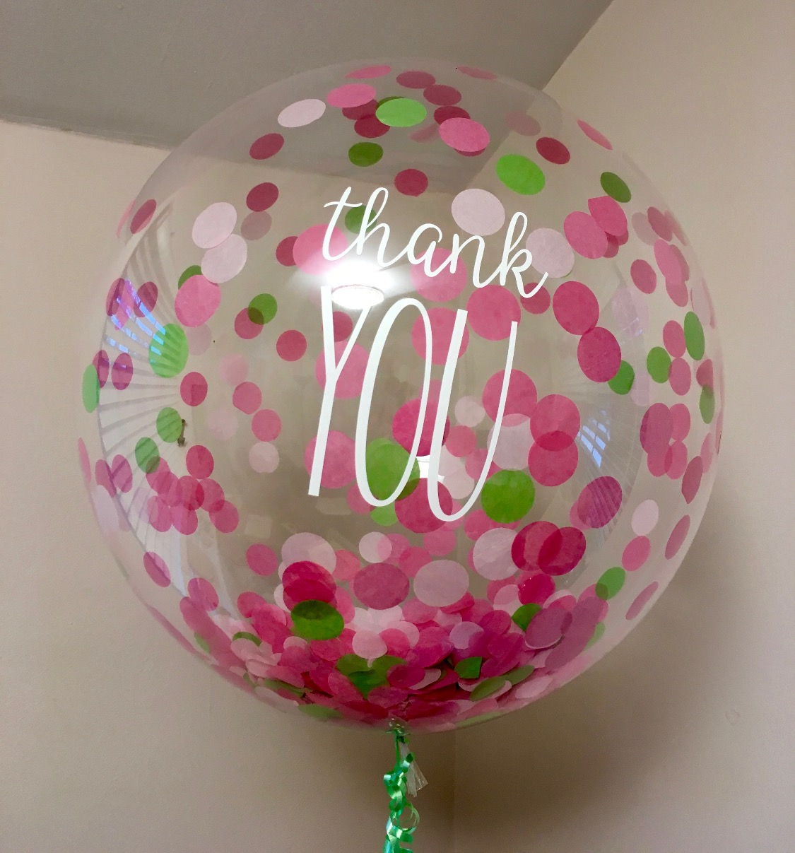 Custom Confetti Balloons _ DC