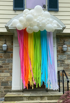 Rainbow Balloon Installation | Balloon Zoom | DC