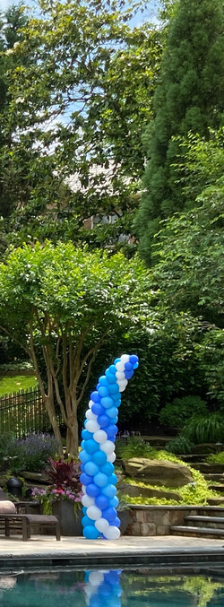 Towering Balloon Columns | Washington DC | Balloon Zoom