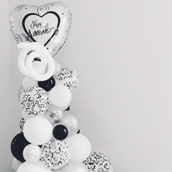 Mini Organic Balloon Column | Washington DC | Balloon Zoom