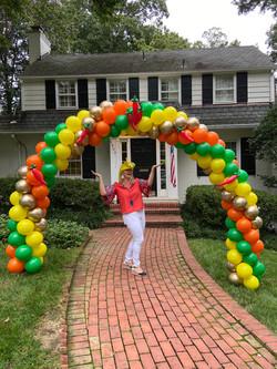 Cinco De Mayo Balloon Arch | Balloon Zoom | DMV