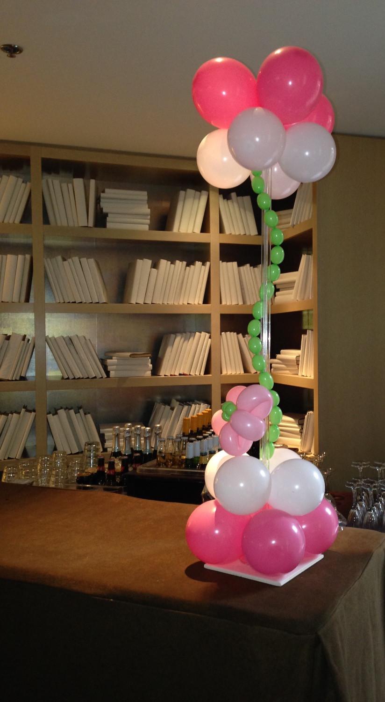Balloon Centerpiece for a Birthday