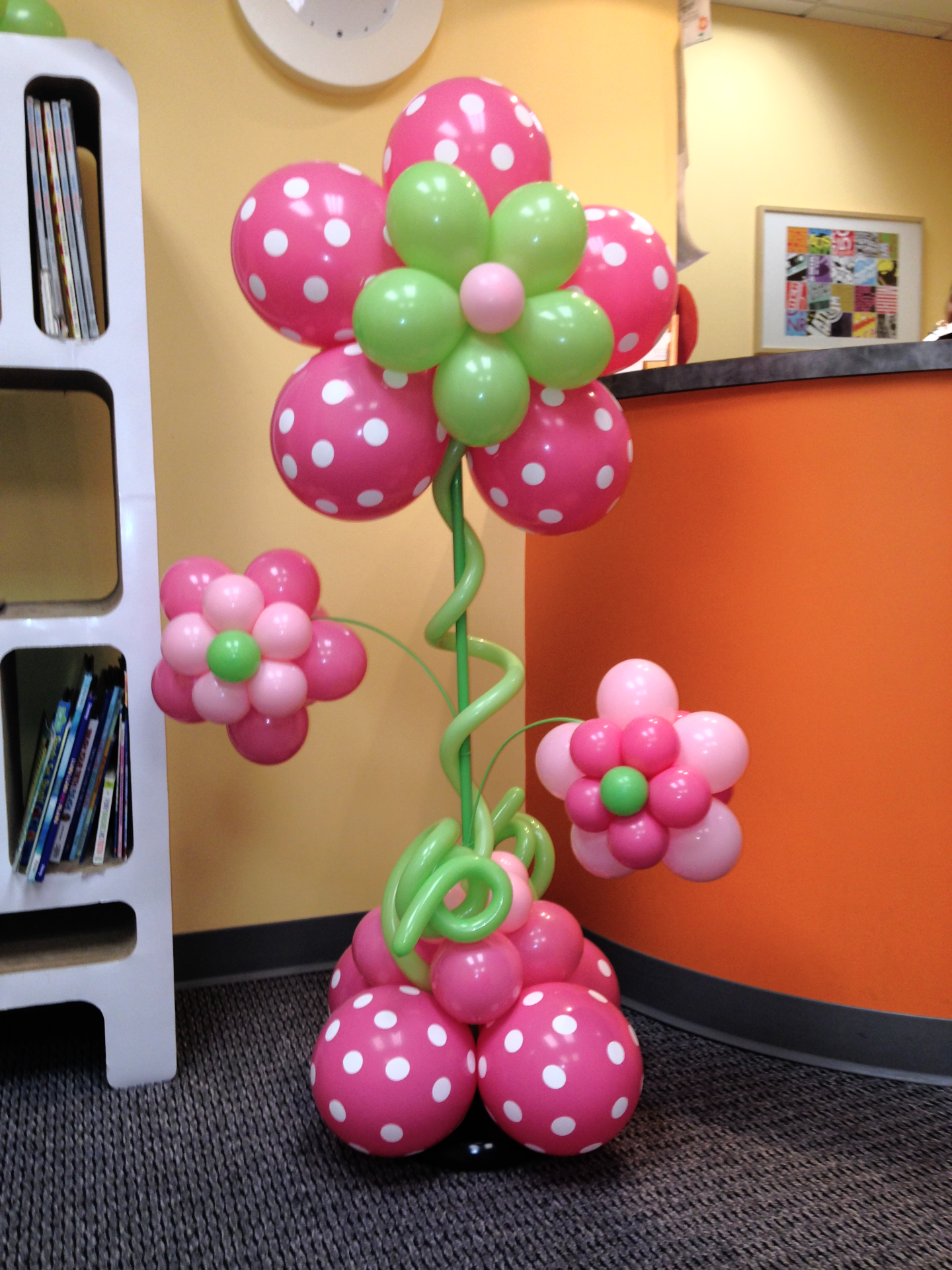 Flower Balloon Column | DC | Balloon Zoom