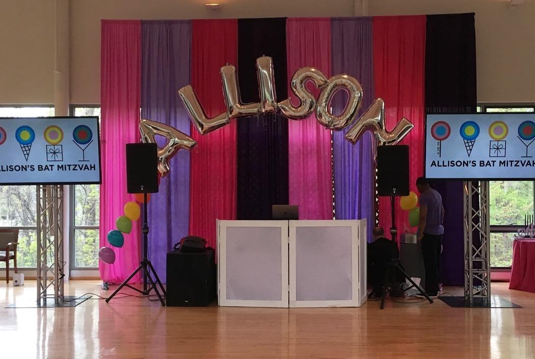 Mitzvah Balloon Decor | Washington DC | Balloon Zoom