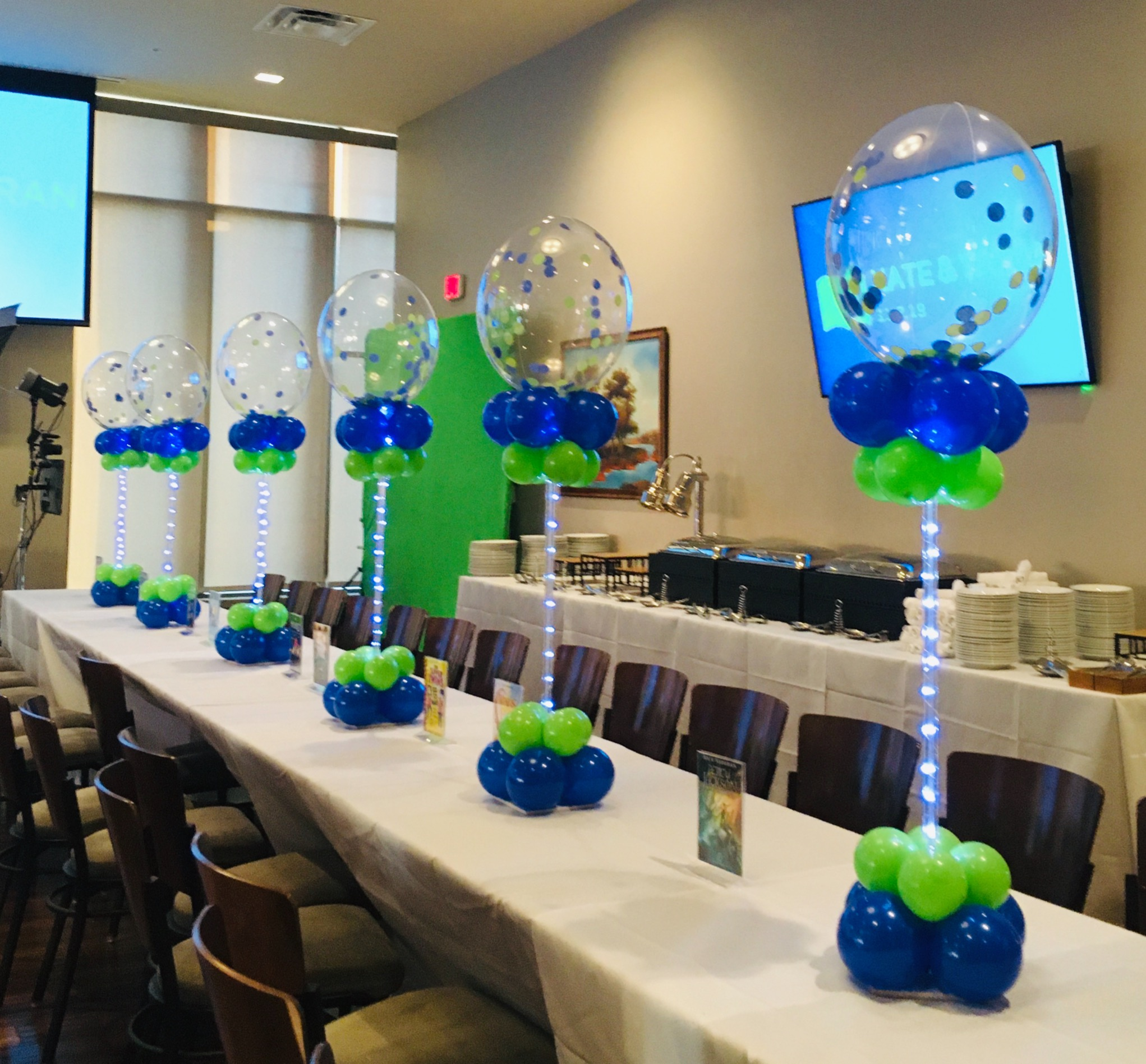 Bar Mitzvah Centerpieces | Maryland | Balloon Zoom