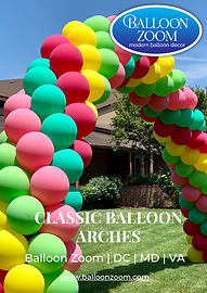 Classic Balloon Arches in DC & the DMV   Balloon Zoom