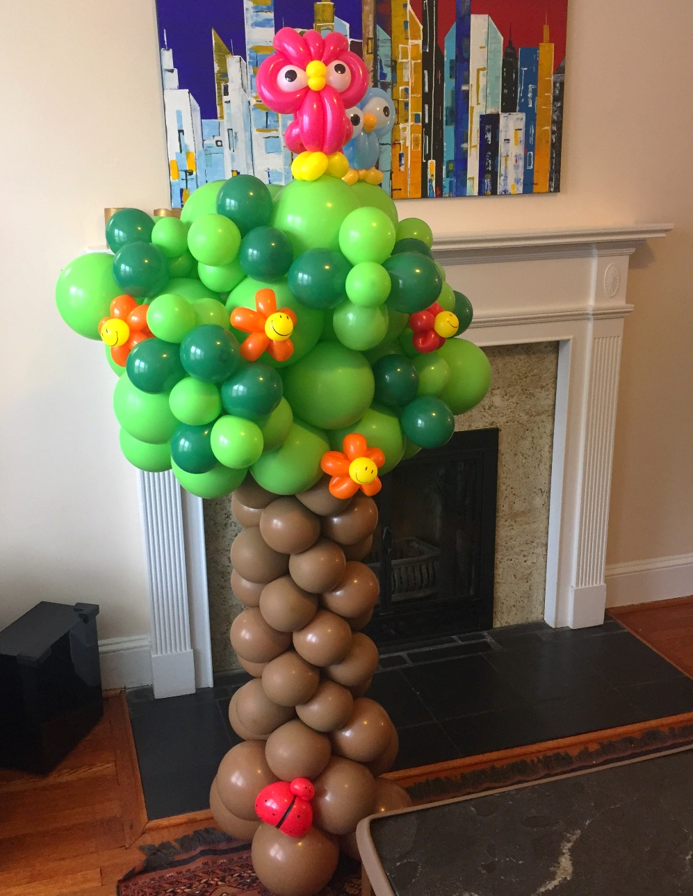 Custom Balloon Columns | Washington DC | Balloon Zoom