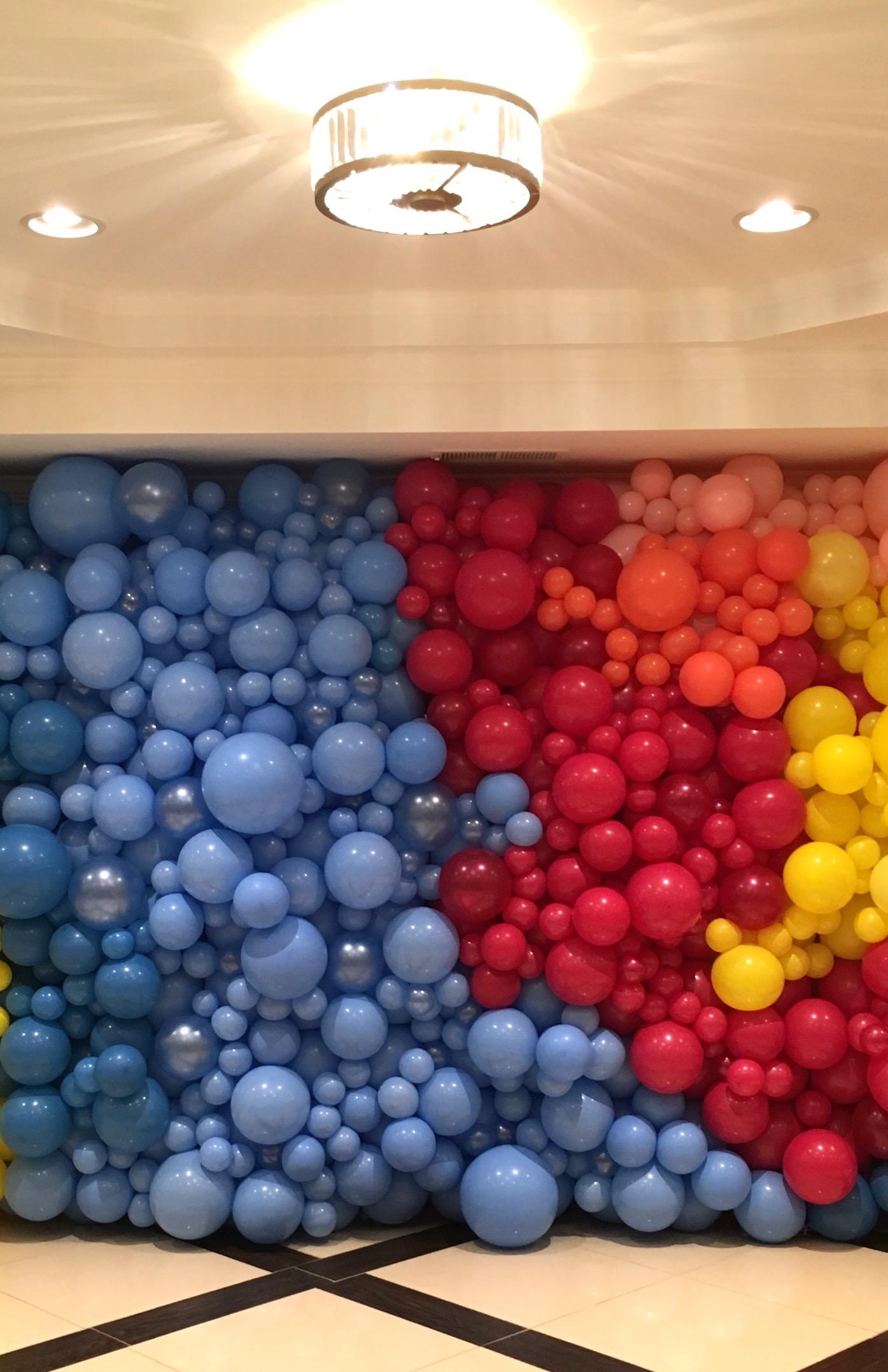 Organic Balloon Walls   DC   Balloon Zoom