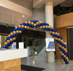 Spiral Balloon Arch | Washington DC | Ba