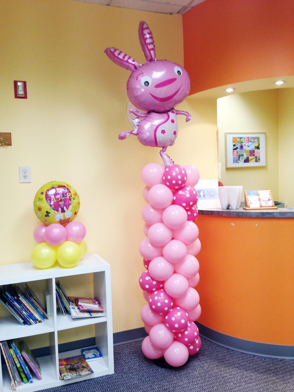 Easter Balloon Column | Washington DC | Balloon Zoom