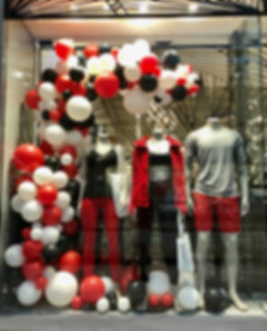 Balloon Retail Window Display | DC