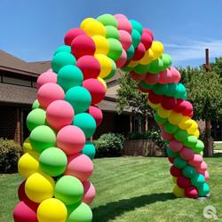 Spiral Balloon Arch | Balloon Zoom | DC