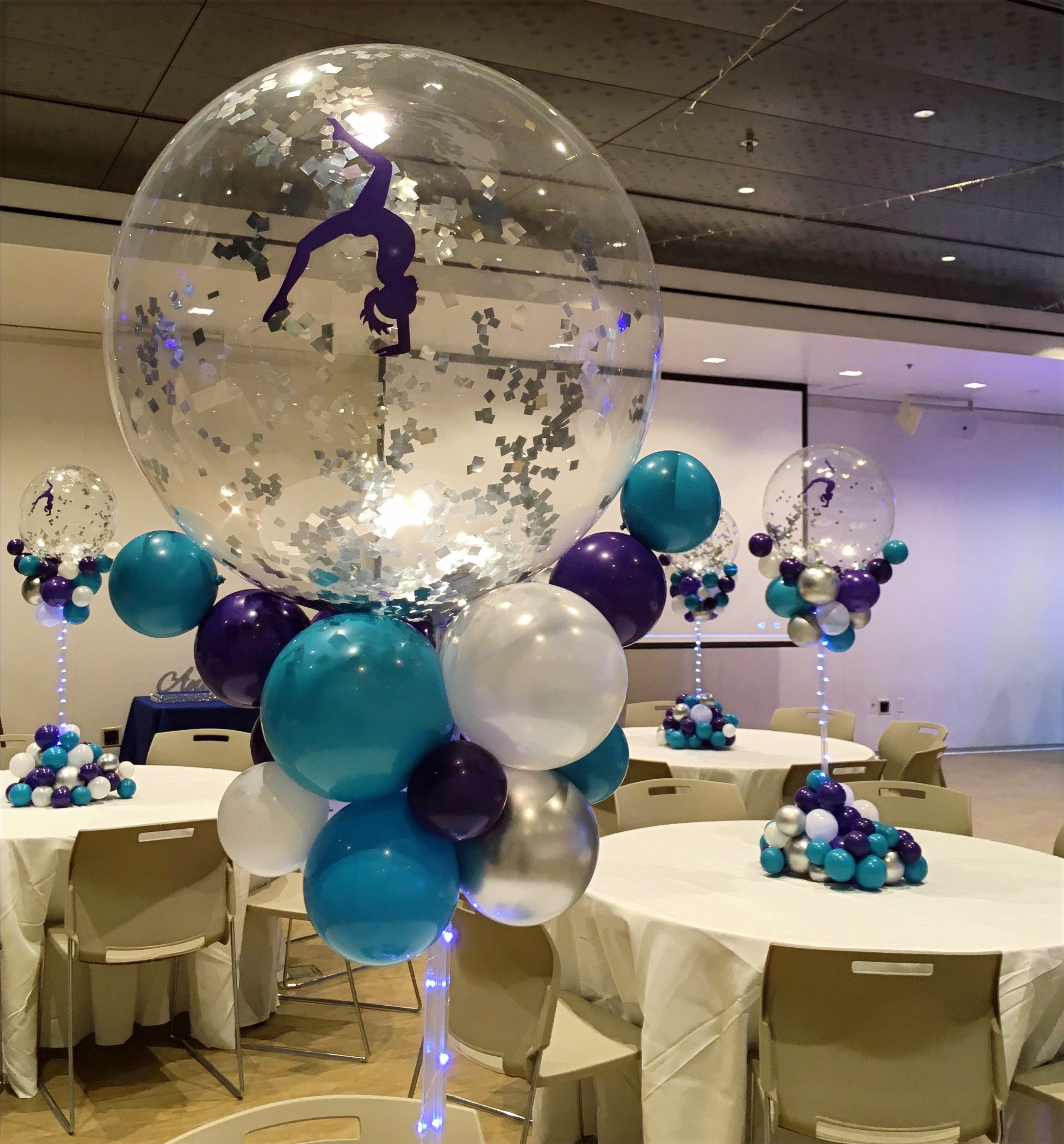 Organic Balloon Centerpieces | Washington DC | Balloon Zoom