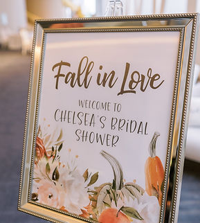 Fall Wedding Decor | DMV Weddings | Ball