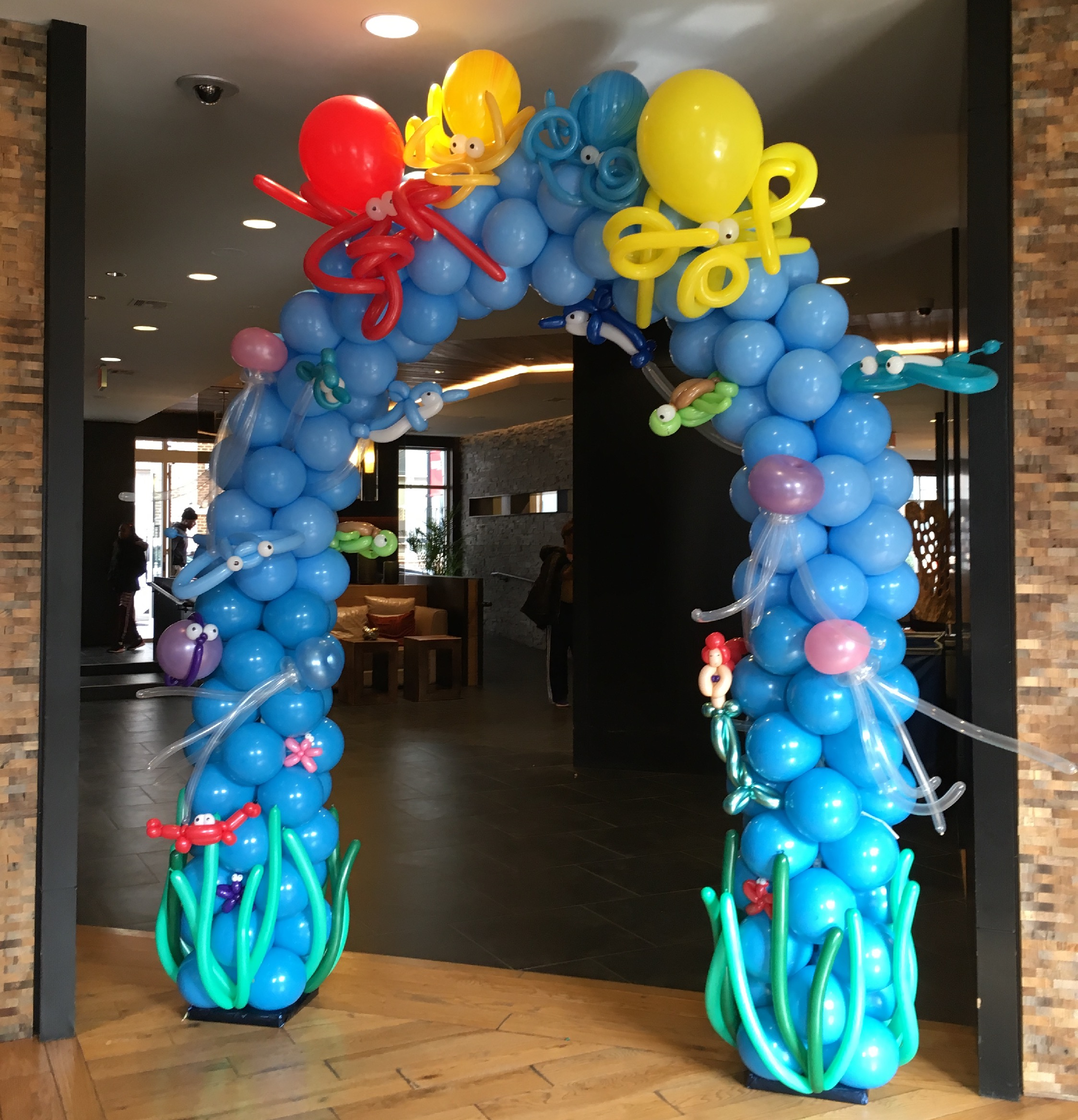 Under The Sea Balloon Arch   Washington DC   Balloon Zoom