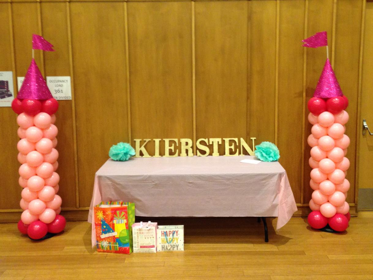 Princess Birthday Balloons |