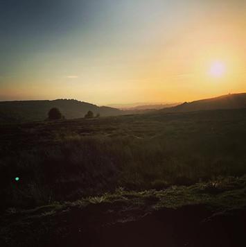 Evening sun on the North Yorkshire Moors