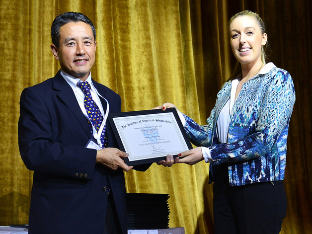 Legal Principles in Shipping Business Prize Winner
