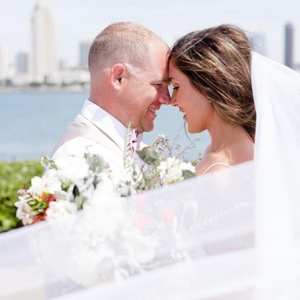 Brunch rustic wedding with modern industrial twist in Little Italy San Diego