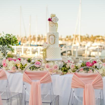 San Diego Elegant Beach table Design