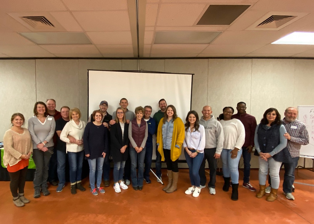 Participants in the Pastors Art of Marriage in November, 2019
