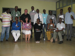 Our Small Group in Rwanda