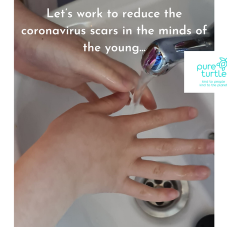 Let's work to reduce the Corona virus scars in the minds of the young...