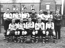 HOLBEACH UNITED AT SPALDING 1954