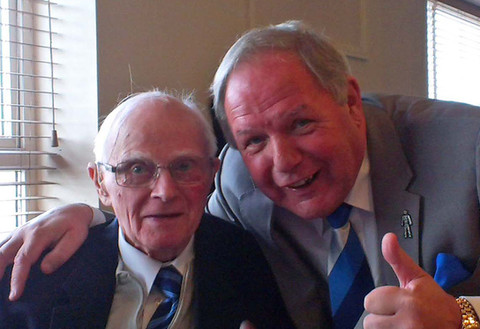 Eric Heath and Barry Fry 2013