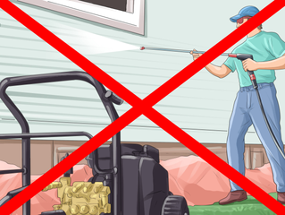 """Will Power Washing Damage My House?"""