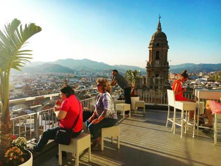Malaga. Andalucia's beautiful Costa del Sol