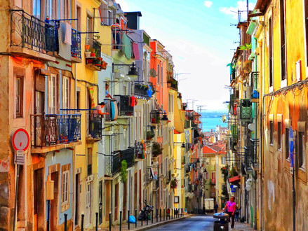 Lisbon, The city of sunshine and smiling faces.
