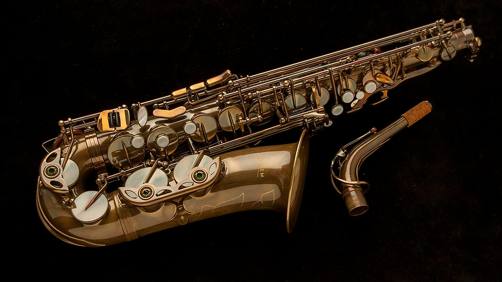 Saxo alto Harlem AS-400 Nuevo! Lacado vintage
