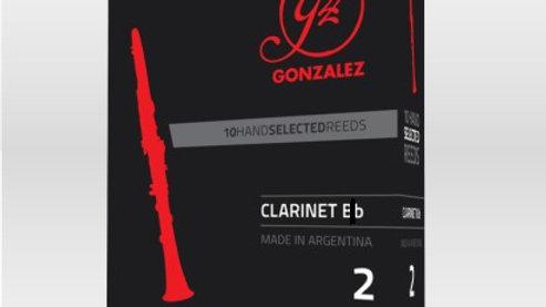 "Caja de 10 Cañas González ""Classic"" para clarinete en Eb"