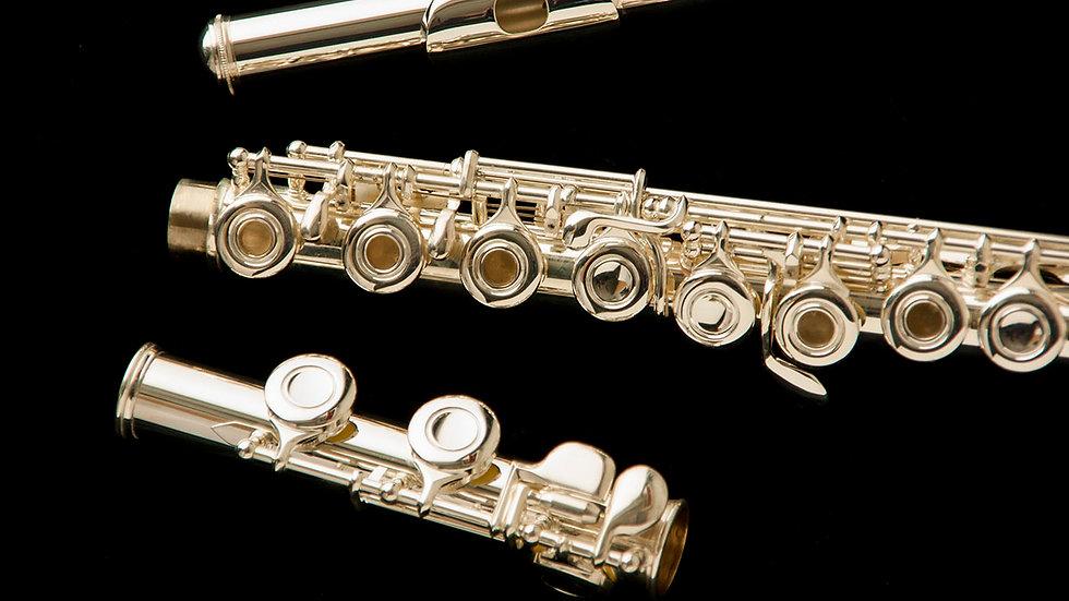 Flauta Harlem FL-5237 platos abiertos – Sol offline