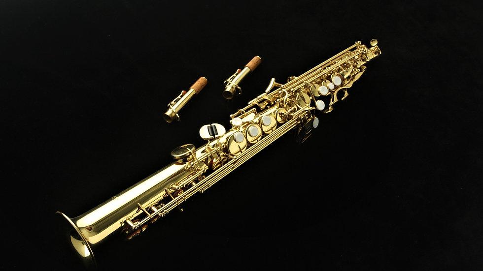 Saxo soprano Harlem SST-400 Nuevo! Con estuche ligero