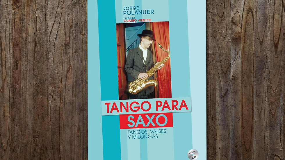 Tango para Saxo (PDF y MP3, descarga digital)