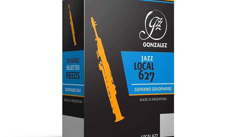 """Caja de 10 Cañas González """"Jazz Local 627"""" para saxo soprano"""