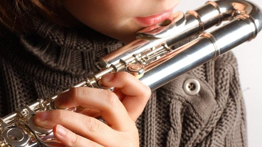 Cabezal curvado para flauta travesera (para niños)