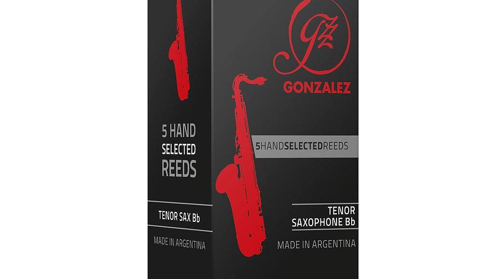 """Caja de 5 Cañas González """"Classic"""" para saxo tenor"""
