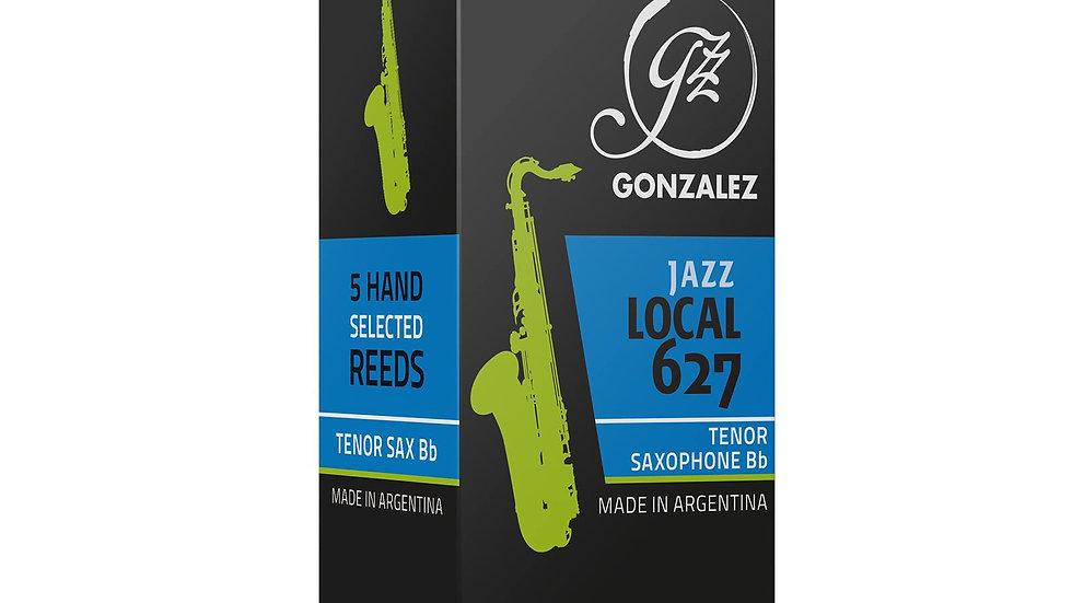 """Caja de 5 Cañas González """"Jazz Local 627"""" para saxo tenor"""
