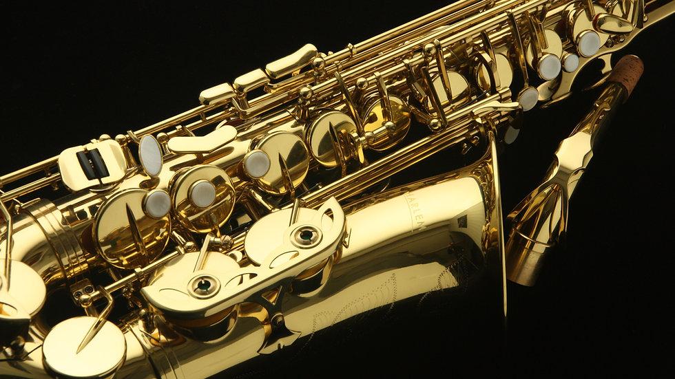 Saxo alto Harlem AS-200 Nuevo! Con estuche ligero