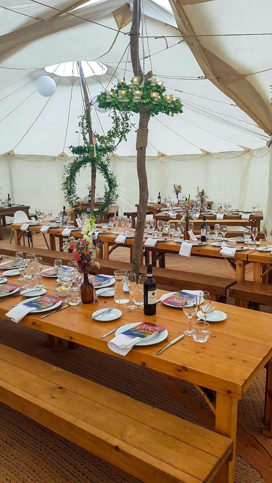 Tipi wedding in shropshire, marquee bar, wedding bar shrewsbury, church stretton wedding, DIY wedding inspo